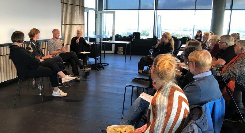 """AaBKC Talk afholdt i samarbejde med Kulturforvaltningen omkring """"Aarhus Kommunes kunsteksperimentarier"""", den 18. september 2019"""