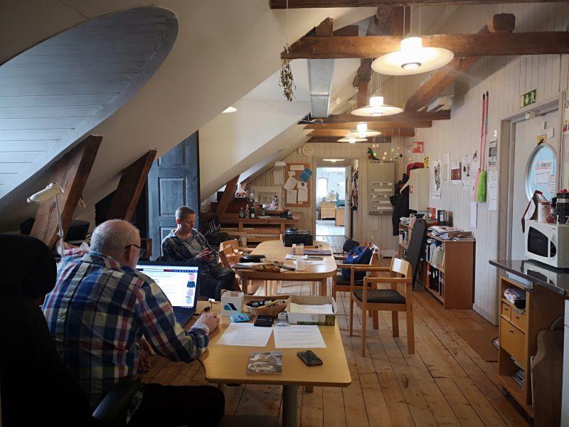 KKV konstnärernas kollektivverkstad i Varberg, Sverige