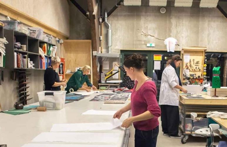 tekstilværksted